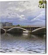 London Thames Bridges  Canvas Print