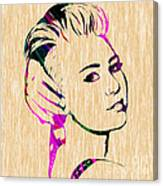 Miley Cyrus Collection Canvas Print