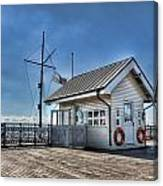 Penarth Pier Canvas Print