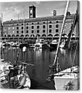 St Katherines Dock London Canvas Print