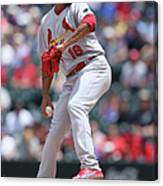 St Louis Cardinals V Colorado Rockies Canvas Print