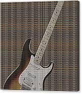 12 Thousand Electric Guitars Canvas Print