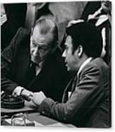Un Security Council Meeting Canvas Print