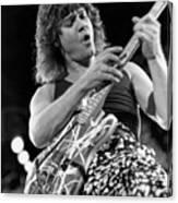 Guitarist Eddie Van Halen Canvas Print