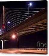 Veterans Glass City Skyway Bridge Canvas Print