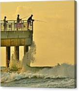 12002 Four Seasons Pier Canvas Print