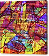 1261 Abstract Thought Canvas Print