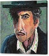 #13-16 Bob Dylan Canvas Print