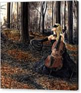 13 Autumns And A Widow Canvas Print