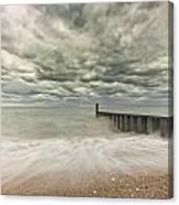Breakwater Canvas Print