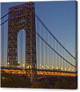 George Washington Bridge Canvas Print