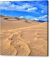 Great Sand Dunes Canvas Print