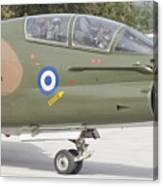 Hellenic Air Force Ta-7 Corsair II Canvas Print