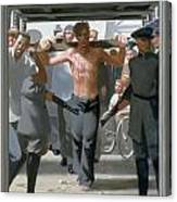 13. Jesus Goes To His Execution / From The Passion Of Christ - A Gay Vision Canvas Print