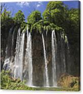 Plitvice Lakes National Park Croatia Canvas Print