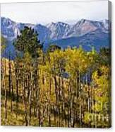 Rocky Mountain Autumn Canvas Print