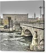 Stokholm  Swiss Canvas Print