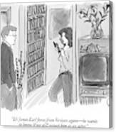 It's James Earl Jones From Verizon Again - Canvas Print