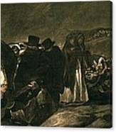 Goya Y Lucientes, Francisco De Canvas Print