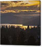 131127a-18 Sandpoint Winter Sunrise Canvas Print