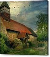 13th Century Church  Canvas Print