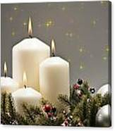 Advent Wreath Canvas Print