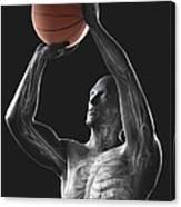 Basketball Shot Canvas Print