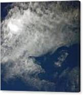 Cloaked Craft Cloud Photograph Canvas Print