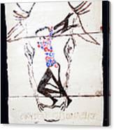 Dinka Dance - South Sudan Canvas Print