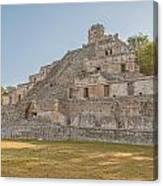 Edzna In Campeche Canvas Print