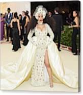 Heavenly Bodies: Fashion & The Catholic Imagination Costume Institute Gala - Arrivals Canvas Print