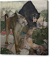 Jungle Book, 1903 Canvas Print