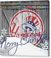 New York Yankees Canvas Print