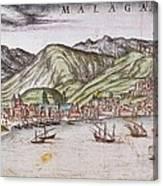 Ortelius, Abraham 1527-1598 Braun Canvas Print