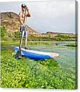 Standup Paddle Board Canvas Print