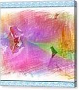 Purple Corolla Canvas Print