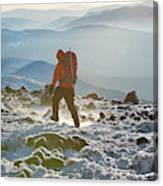 A Summit Intern Hikes The Northwest Canvas Print