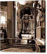 Abruzzo, Aquila, Sulmona, Chiesa Dell Annunziata Canvas Print
