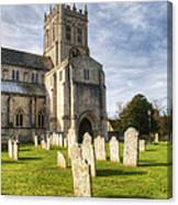Christchurch Priory Canvas Print