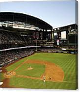 Colorado Rockies V Arizona Diamondbacks Canvas Print