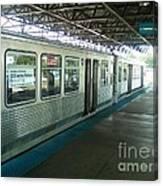 Cta's Retired 2200-series Railcar Canvas Print