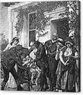 Edward Jenner (1749-1823) Canvas Print