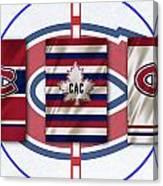 Montreal Canadiens Canvas Print