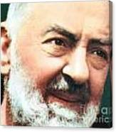 Padre Pio Canvas Print