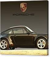 Porsche 911 3.2 Carrera 964 Turbo Canvas Print