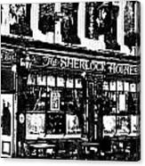 The Sherlock Holmes Pub  Canvas Print