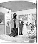 New Yorker September 25th, 2006 Canvas Print
