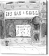 New Yorker November 14th, 2016 Canvas Print