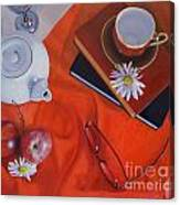 1530 Time For Tea Canvas Print