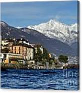 Alpine Village Canvas Print